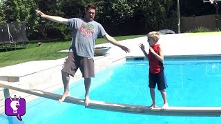 Plank Challenge Part 2! Balancing Skills with the HobbyFamily