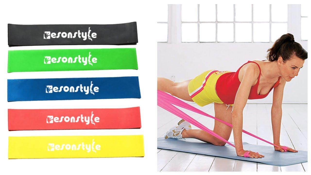 Резинки для фитнеса 5 шт. купить в Аксарке