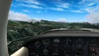 MegaSceneryEarth 2.0 California (FSX) - Gansner Field Approach - Official HD Video