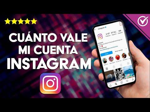 Cómo Saber Cuanto vale mi Cuenta de Instagram - Fácil y Rápido