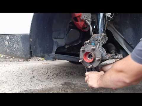 Замена ступицы Форд Фокус 2. Снимаем поворотный кулак смотреть в хорошем качестве