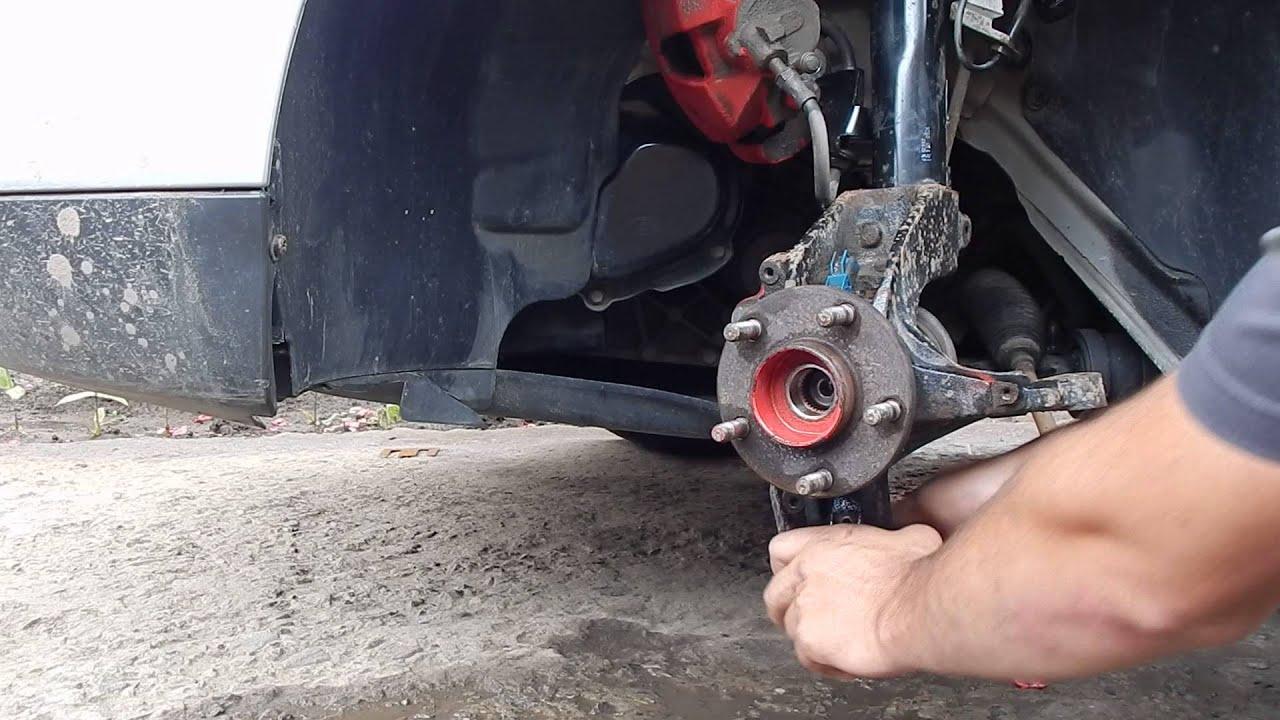 Юбка переднего бампера Ford Focus 2