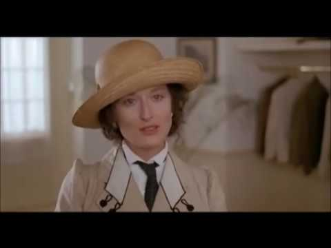 "Karen is diagnosed with syphilis - ""Out of Africa"" - Meryl Streep"