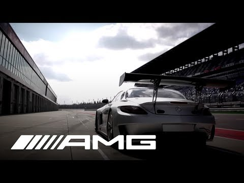 SLS AMG GT3 Warm-Up with Tommy Kendall - Clip 1