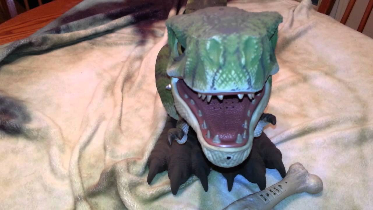 Mattel D Rex Interactive Dinosaur Prehistoric Pets Youtube