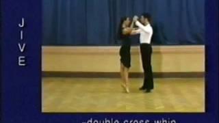 jive dance steps 10 double cross whip
