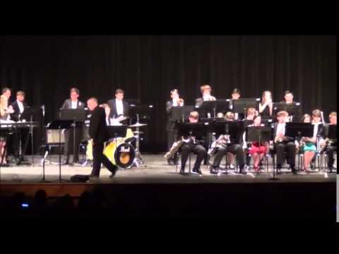 Hartselle High School Jazz Band, Sun Cat cover 2015