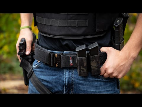 Range Belt Setup! | Safe Life Defense