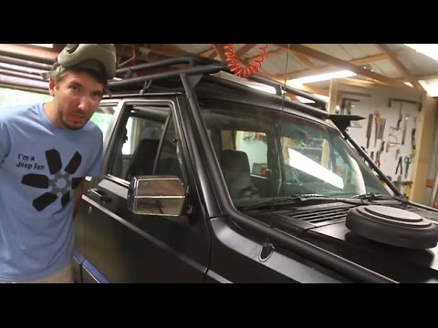 Jeep Grand Wagoneer >> XJ Side Mirror Fix - YouTube