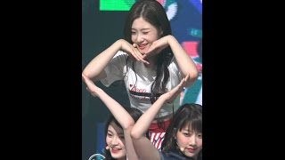 mpd직캠 다이아 채연 직캠 나랑 사귈래 will you go out with me dia chae yeon fancam 엠카운트다운 170427