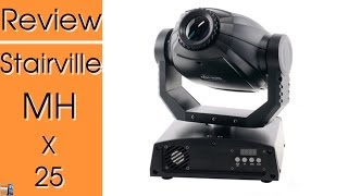 review test stairville mh x25 led moving head