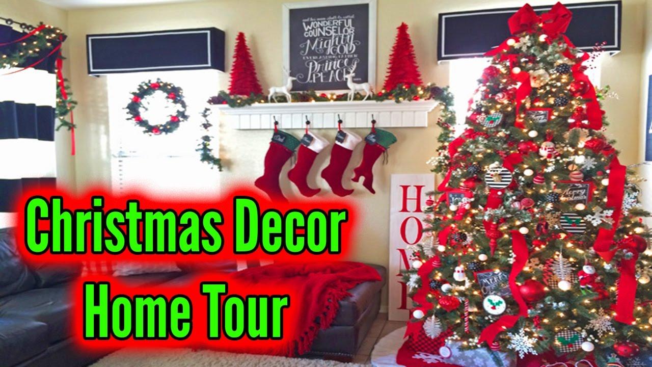 Christmas Decorating Home Tour Christmas 2017 Youtube