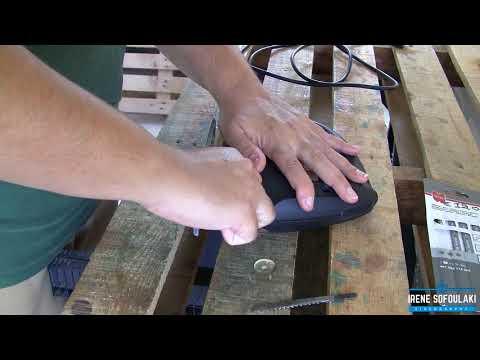Σέγα Ξύλου Skil 4181 (Αντικατάσταση & Δοκιμή λάμας) / Replacing & testing jigsaw blade