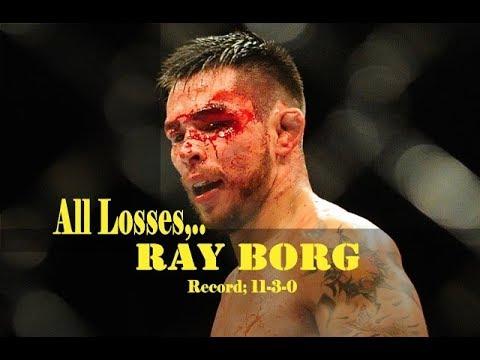 Ray Borg Losses In MMA Career | All 3 Losses Of Ray Borg Highlights