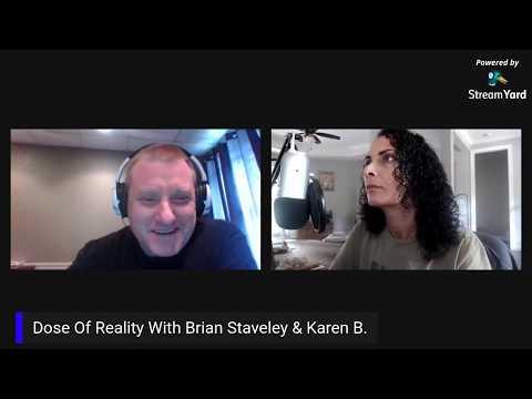 Karen B & Brian! - Flat Earth, Mandela Effect, Animal To Human Consciousness, Manifestation & More thumbnail