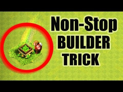 (HINDI) Non-Stop Builder Work Secrets & Tricks That You Might Not Know! Clash Of Clans!
