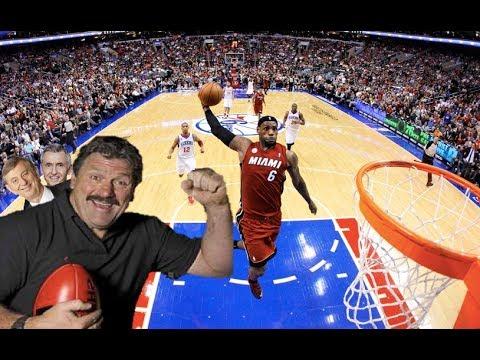 BRIAN BT TAYLOR COMMENTATING NBA BASKETBALL
