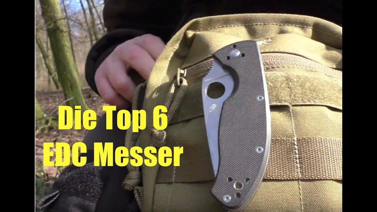 Meine Top 6 Edc Messer Youtube