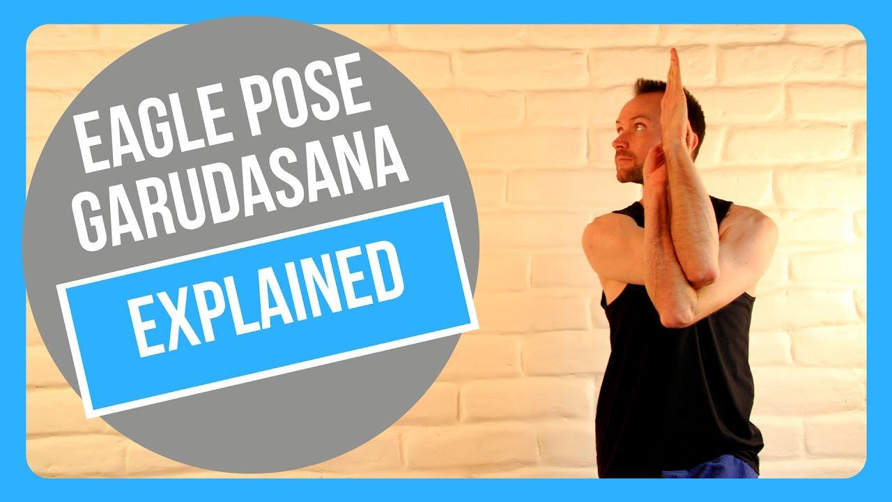 How To Do Eagle Pose - Garudasana - Yoga Education - YouTube