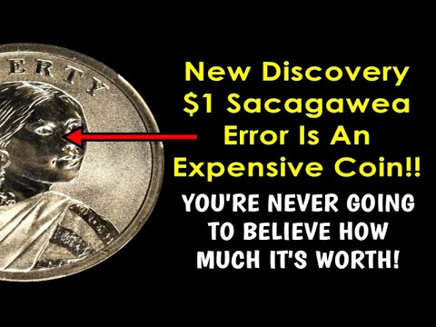 NEW DISCOVERY Sacagawea Dollar Error Is Worth Big Money If You Can Find One!!