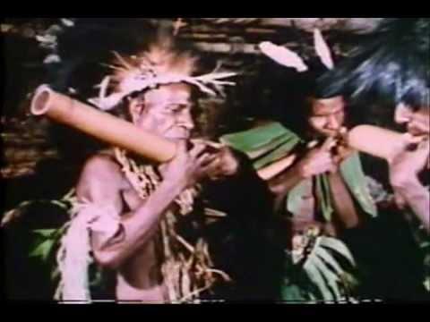 Papua New Guinea: Bamboo Flutes