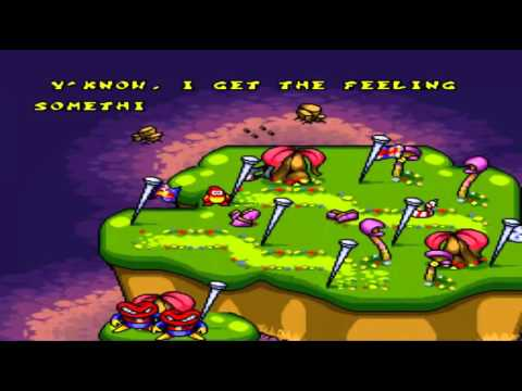 Plok (SNES) Playthrough