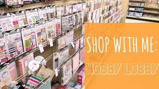 Shop With Me: Hobby Lobby!