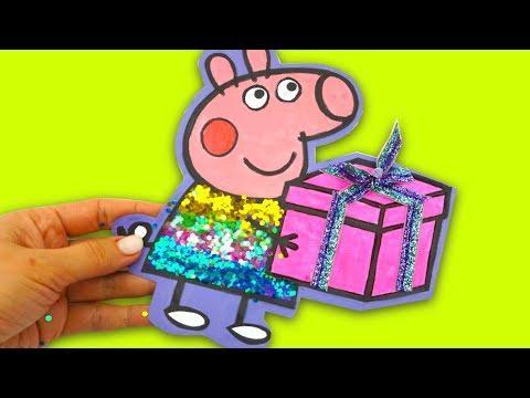 Свинка Пеппа детские поделки своими руками