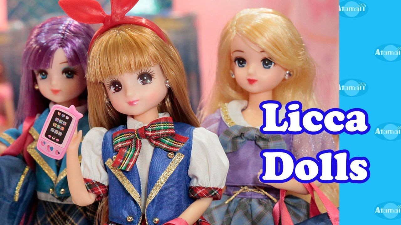 Licca Dolls Tokyo Toy Fair 2014 - YouTube