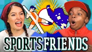SPORTSFRIENDS CHALLENGE (Teens React: Gaming)