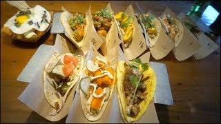 Shrimp + Grits, Fish n' Chips, Burger Tacos!!!! + Hair cut  | KEEMI★Foodvlog