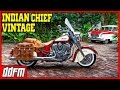 2015 Indian Chief Vintage First Ride - Moto vLog