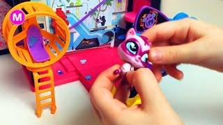 Распаковка Игрушек Литлест Пет Шоп Unpacking Littlest Pet Shop LPS Toys