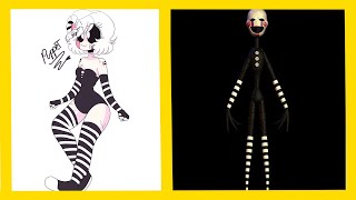 Five Nights at Freddy's: Sister Location Characters As Human ▶ MY Styles Challenge #FNAFARMY