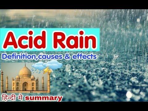 taj mahal affected by acid rain