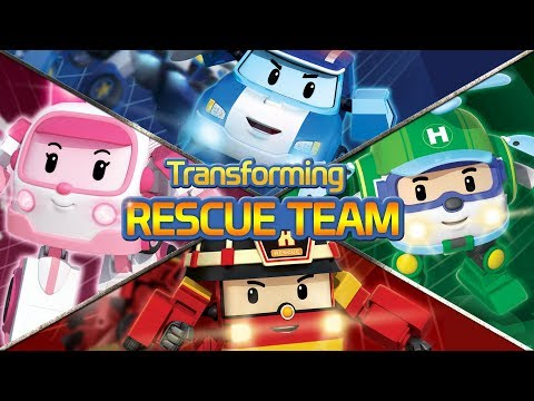 Transforming Robocar POLI Rescue team   Robocar POLI Special clips