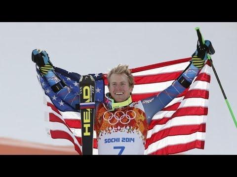USA Ligety WINS GOLD in Men's Giant Slalom - Women's Free Figure Skating Short Program