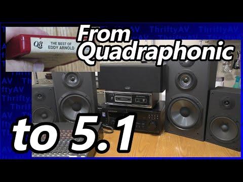 Playing Q8 Quadraphonic 8-tracks on a 5.1 Surround Sound Receiver Mp3