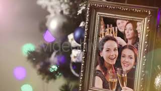 New Year 2020 Slideshow After Effects Project Files hive template