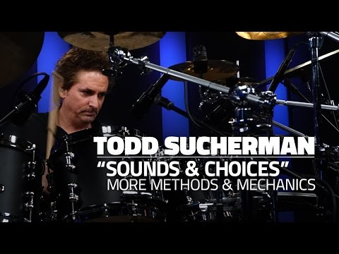 "Todd Sucherman: ""Sounds & Choices"" - More Methods & Mechanics - FULL DRUM LESSON (Drumeo)"