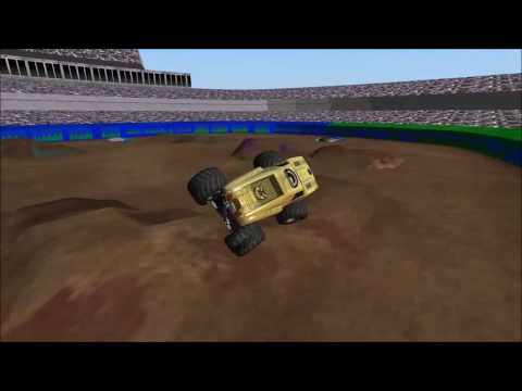 Rigs of Rods Monster Jam: Max-D Gold Freestyle at SMRA Cincinnati