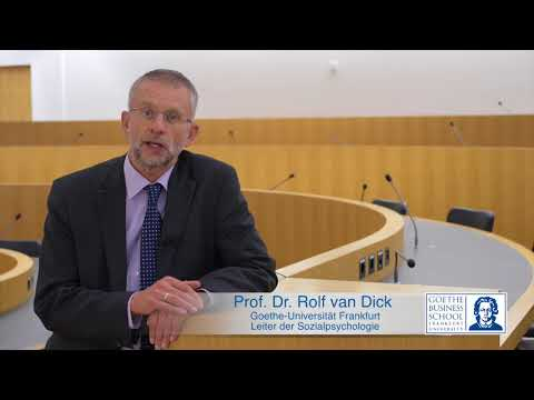Prof. Dr. Rolf van Dick about Goethe Business School's MBA Digital Transformation