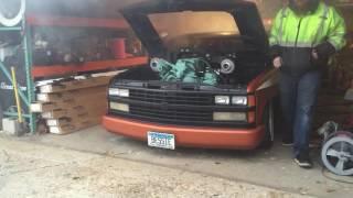 453T Detroit diesel cold start