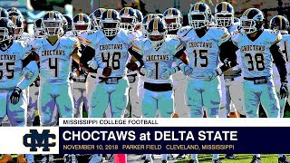 Football: Choctaws vs. Delta State