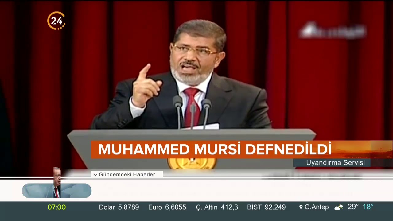 Şehit #MuhammedMursi rahmeti rahmana uğurlandı