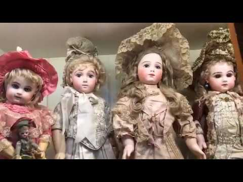 The Children's Case At The Grovian Doll Museum | The Art of the Antique Bebe Doll
