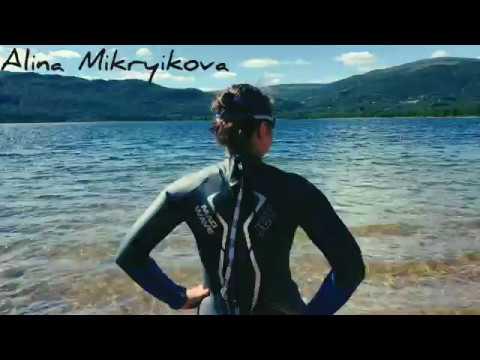 видео: Тренировка на открытой воде в Норвегии перед Norseman 2018