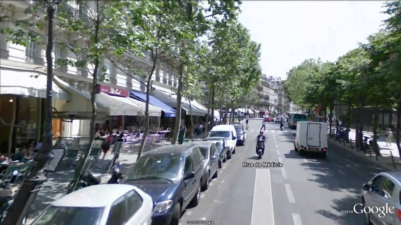Google Earth Streetview Flythrough In Paris YouTube - Google earth street view
