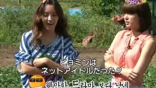 [T-ara] Hyomin ジュヨンとトークバトル
