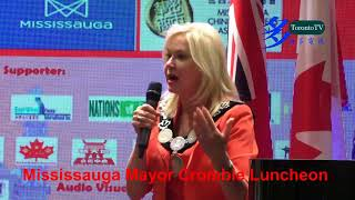 20171005, Mississauga Mayor, Bonnie Crombie, Luncheon